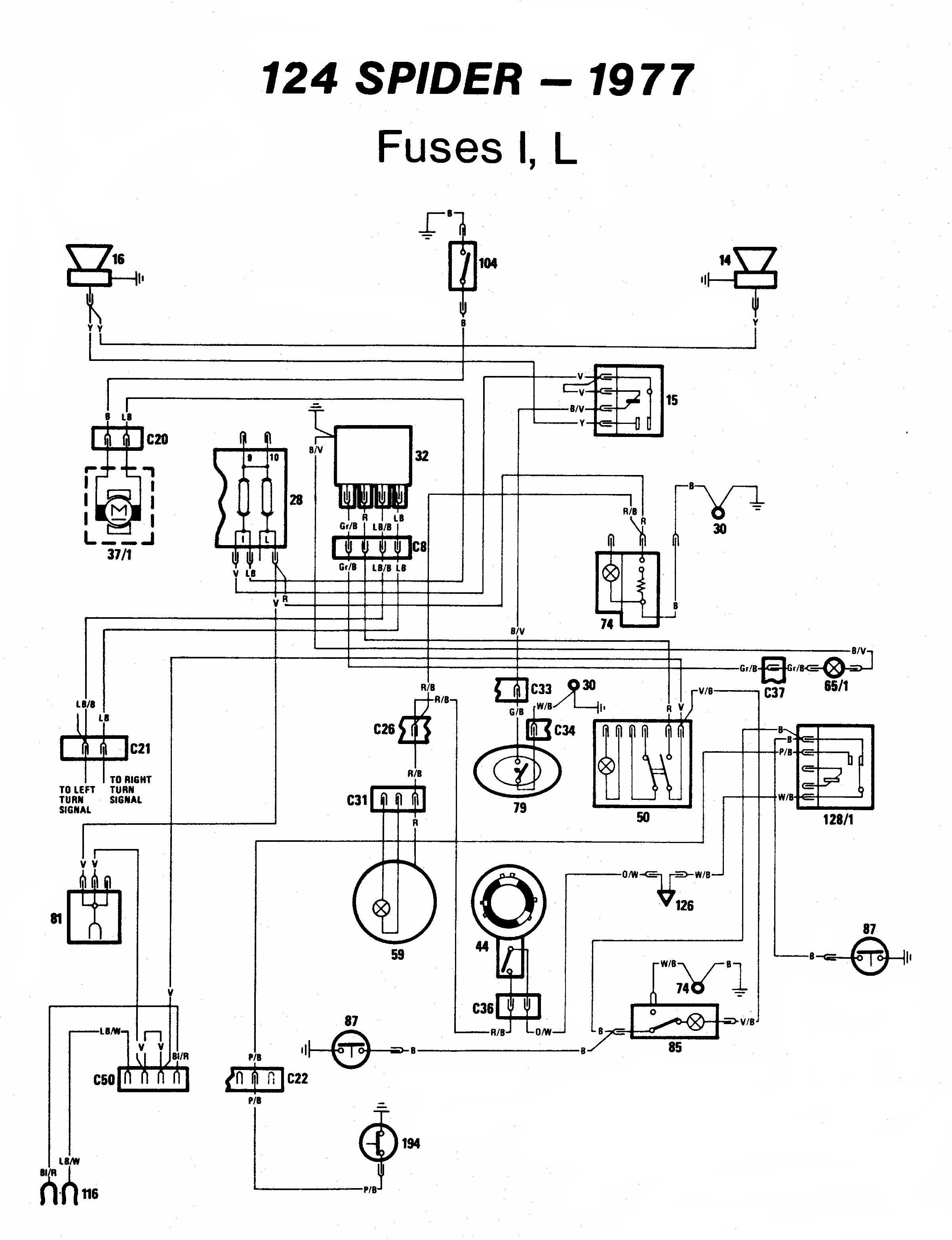 Technical Advice Sacramento Area Fiat Club 1981 Spider Wiring Diagram 1977 Page 18