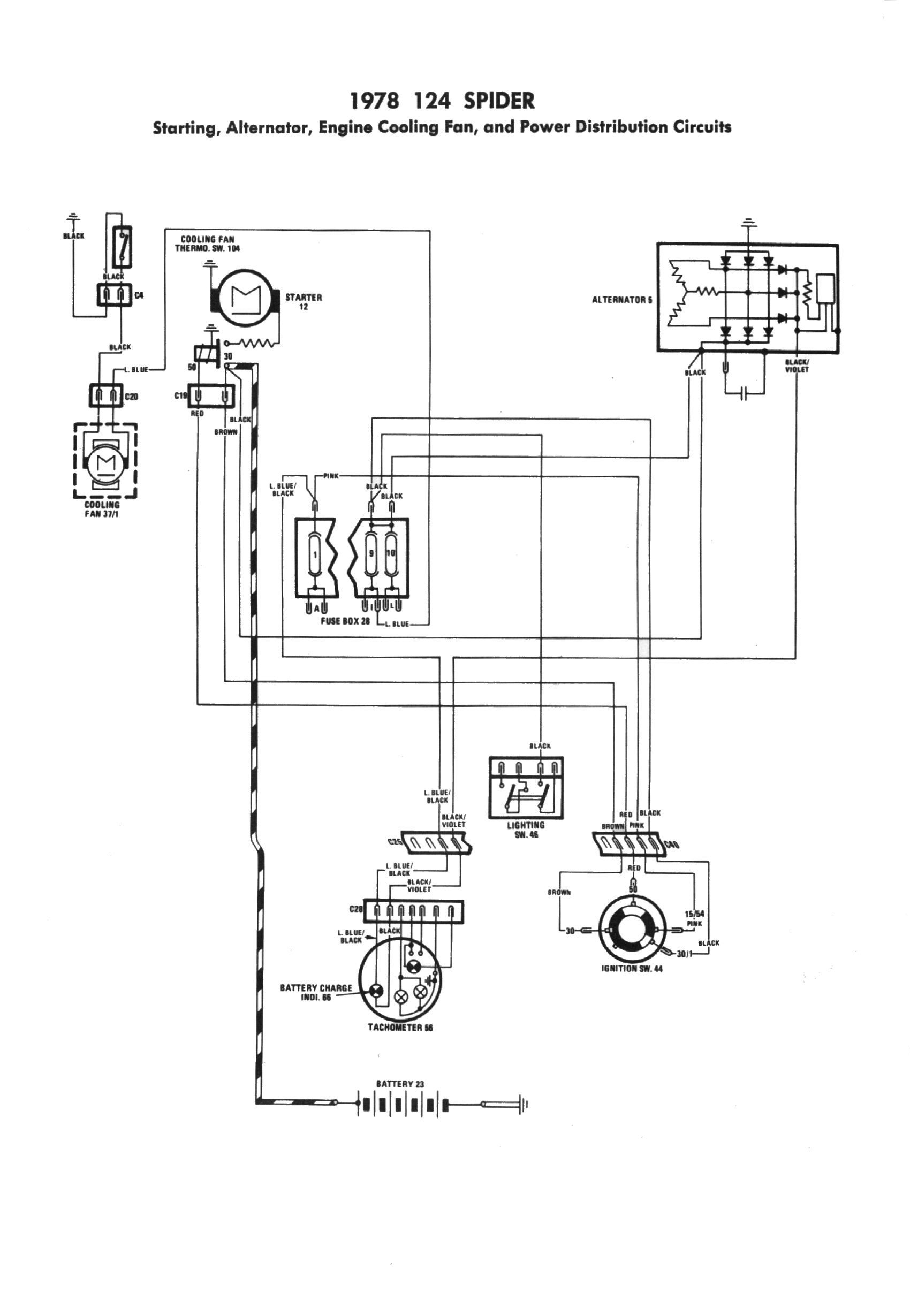 Fiat 124 1978 Engine Diagram Another Blog About Wiring Cinquecento Fuse Box Layout Technical Advice Sacramento Area Club Rh Sacramentoareafiats Weebly Com