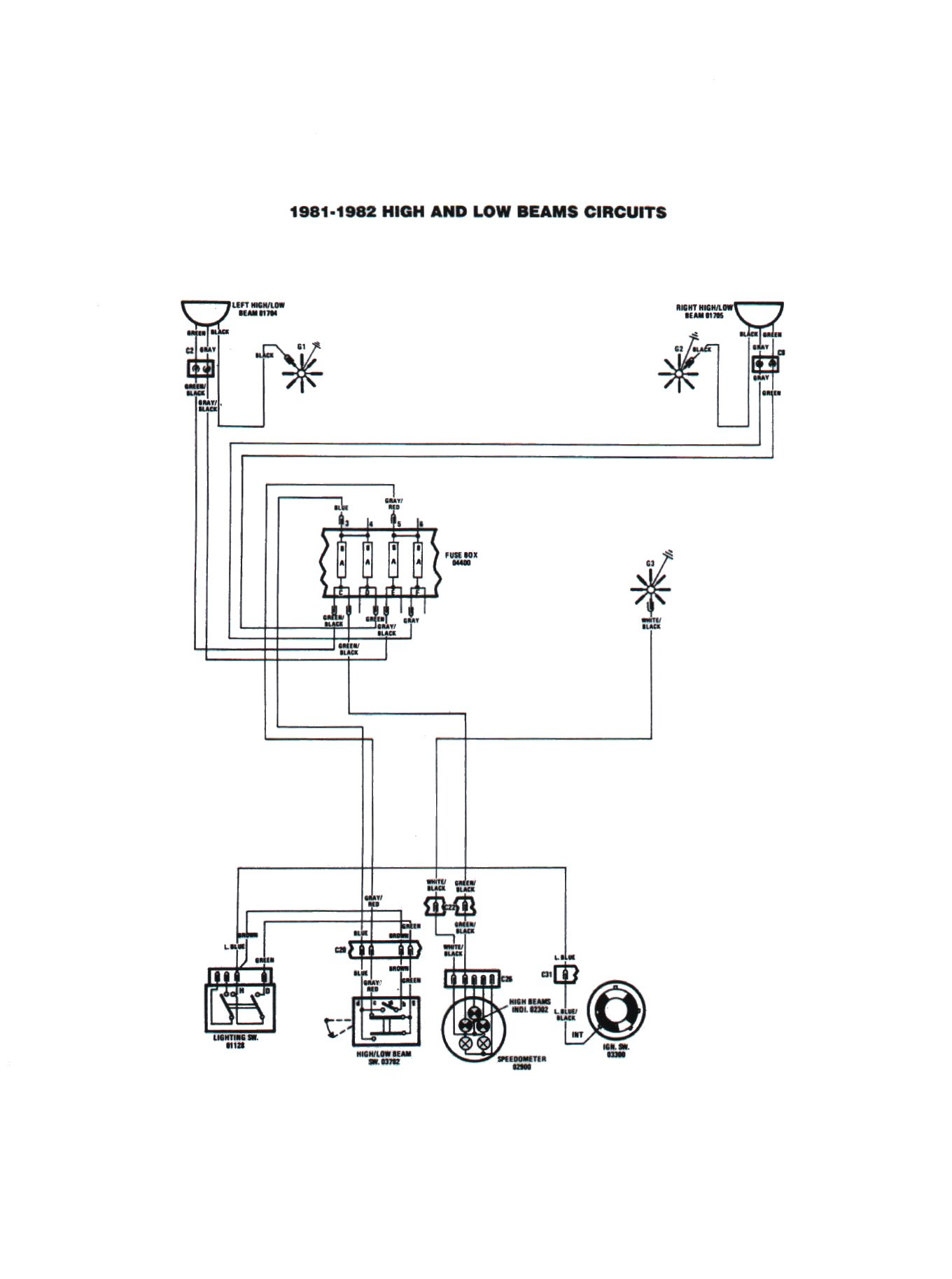 Technical Advice Sacramento Area Fiat Club 1981 Spider Wiring Diagram 1980 81 Page 42 43 44